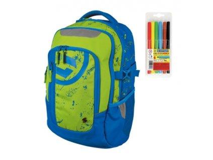 Školní batoh pro kluky Stil teen Energy  + DÁREK ZDARMA - Fixy Centropen 6 barev,