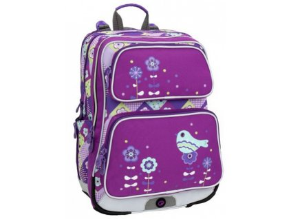 skolni batoh bagmaster galaxy 6 a violet blue darek zdarma original
