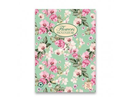 3chlopňové desky Pigna Nature Flowers - A4, mix motivů