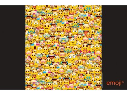 Podložka na stůl Karton P+P  60 x 40cm - Emoji