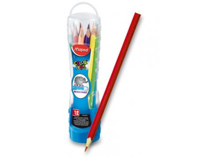 Pastelky Maped Color´Peps Squeezy Tube, 12 barev