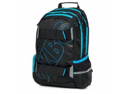 Studentský batoh OXY Sport BLACK LINE, Karton P+P, BLUE