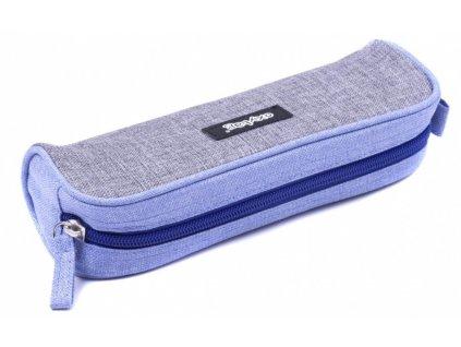 Pouzdro na tužky (etue) OXYBAG velká šedo-fialová, Karton P+P