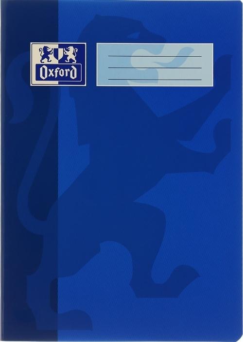 Oxford Školní sešit 544 linkovaný 40 listů A5 Barva: Modrá