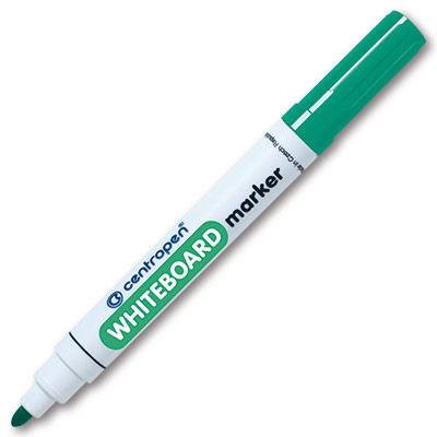 Fix na bílé tabule Centropen - WBM stíratelný 8559 - mix barev Barva: Zelená