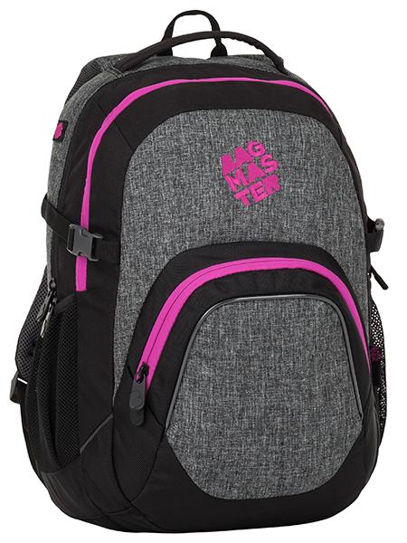 Školní batoh pro holky Bagmaster Matrix 8 A
