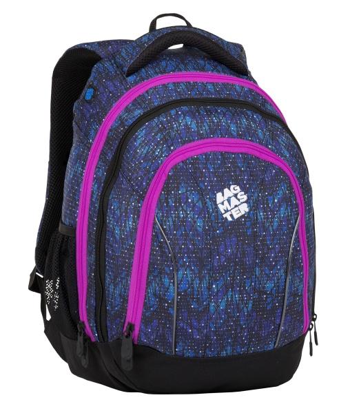 Školní batoh pro holky Bagmaster SUPERNOVA 8 A