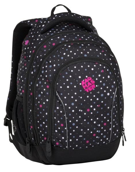 Školní batoh pro holky Bagmaster SUPERNOVA 8 C