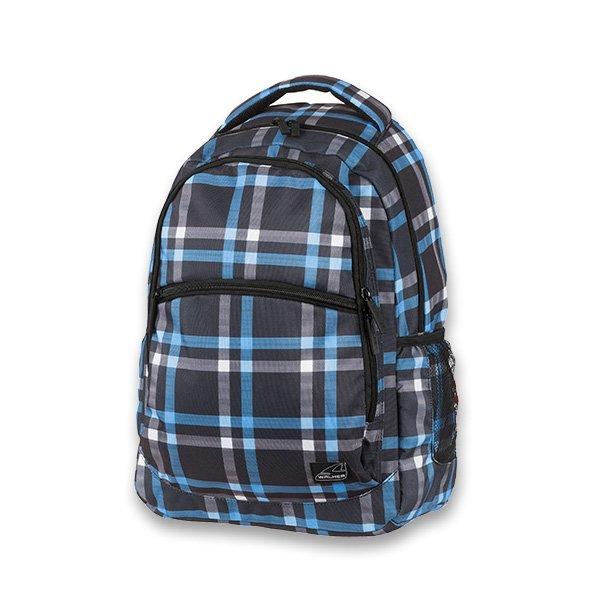 Školní batoh pro holky Walker Base Classic Cross Blue
