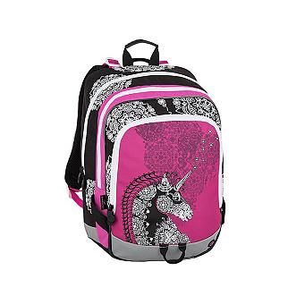 Školní batoh pro holky Bagmaster Alfa 8 B