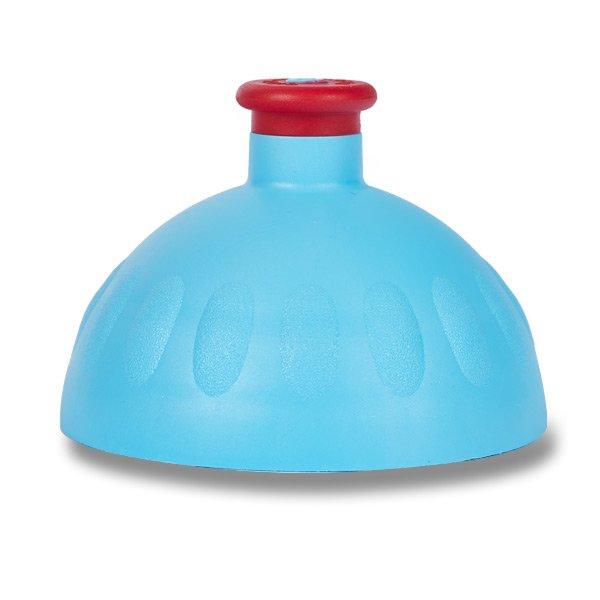 Náhradní víčko Zdravá lahev - výběr barev Barva: Modrá/červená zátka