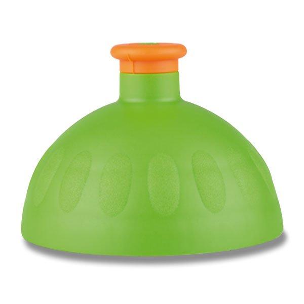 Náhradní víčko Zdravá lahev - výběr barev Barva: Zelená/zátka oranžová