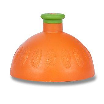 Náhradní víčko Zdravá lahev - výběr barev Barva: Oranžová/zelená zátka