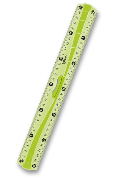 Pravítko Maped Flex oboustranné 30 cm, blistr