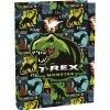 Školní box na sešity A5 T-rex
