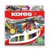 Trojhranné pastelky Kolores - Kores 50 barev