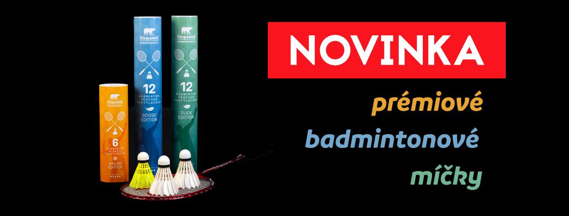 Novinka:badmintonove micky