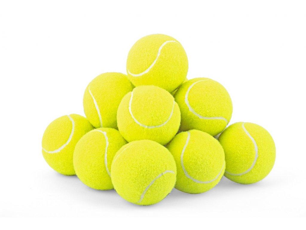 Turnajový míček žlutý s LOGEM KLIENTA