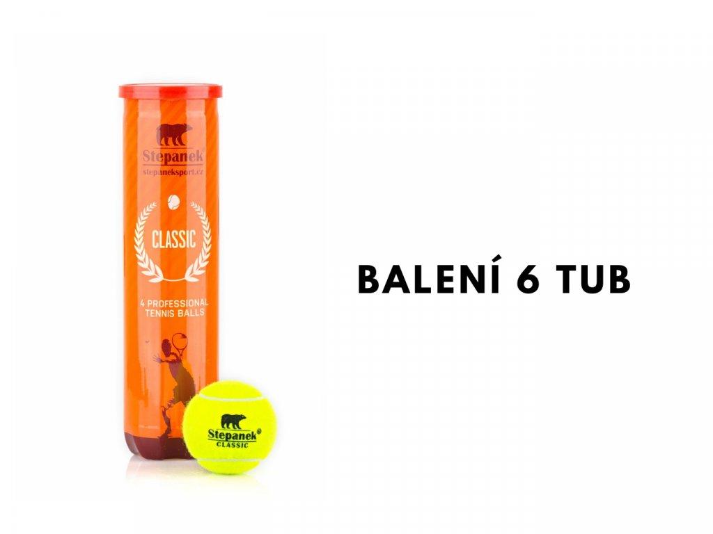 Tenisové míčky Stepanek Classic (24ks)