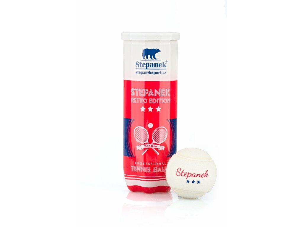 Retro tenisové míčky