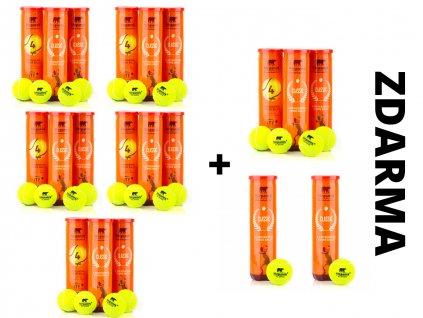 Tenisové míčky Stepanek Classic 15+5 zdarma