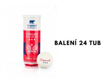 Tenisové míčky Stepanek RETRO (72ks)