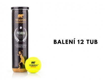 Tenisové míčky Stepanek PREMIUM (48ks)