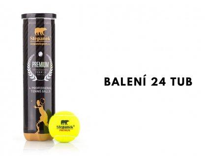 Tenisové míčky Stepanek PREMIUM (96ks)