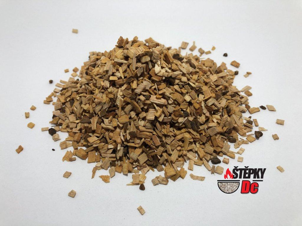 Stelivo z olšového dřeva 1 - 4 mm
