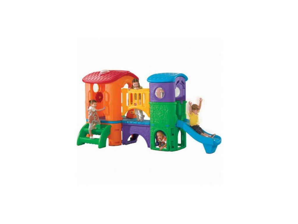prolézačka clubhouse climber,hrací sestava,dětské hřiště,dětská hřiště