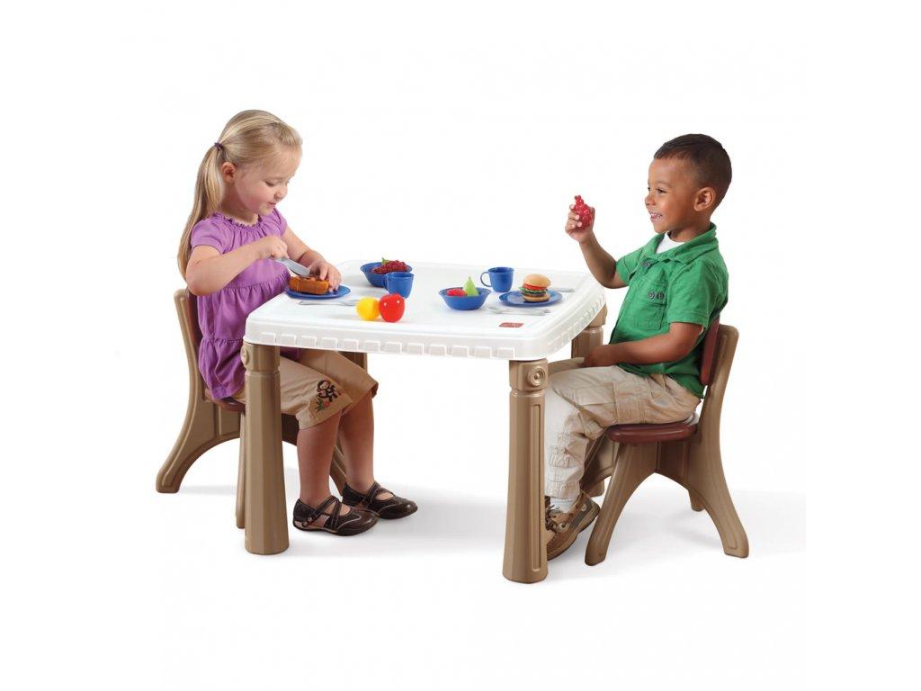 dětský stoleček se židlemi,dětský stoleček a židličky Step2