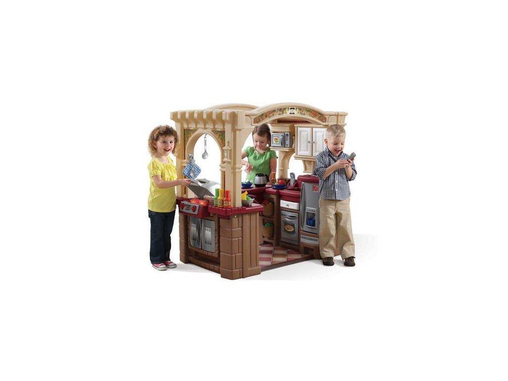 kuchyňka Grand Walk s grilem,dětská kuchyňka,kuchyňky,dětské kuchyňky