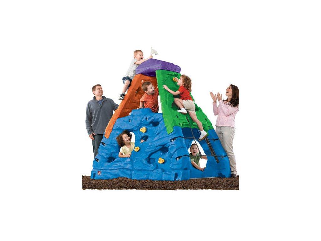 horolezecká skála Skyward,horolezecká skála,dětská horolezecká stěna,prolézačka