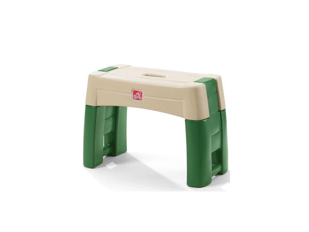zahradní stolička a klekačka 2v1, klekátko 2v1