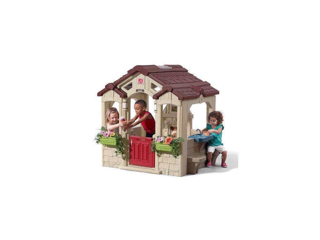 Dětský domeček Charming,dětský domeček na zahradu,domeček pro děti