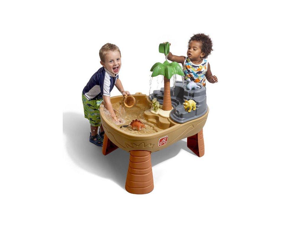 Vodní hřiště DINO,stoleček na hraní s vodou,herní stolek