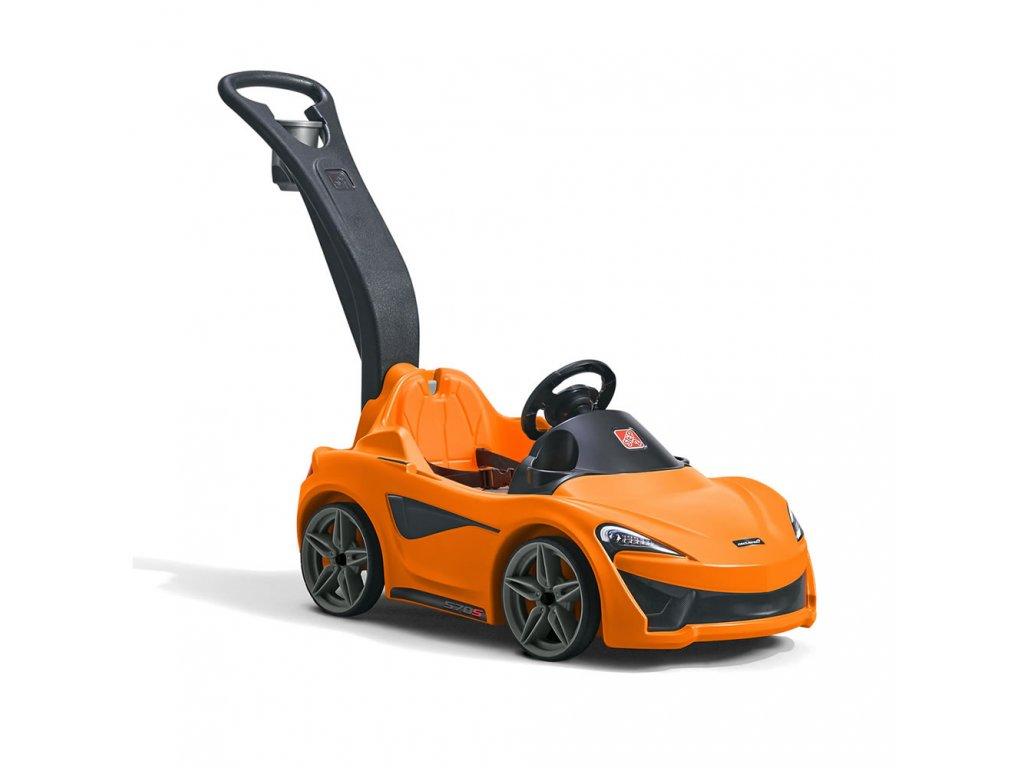 Vozítko McLaren, autíčko McLaren, odrážedlo, autíčko s vodicí tyčí