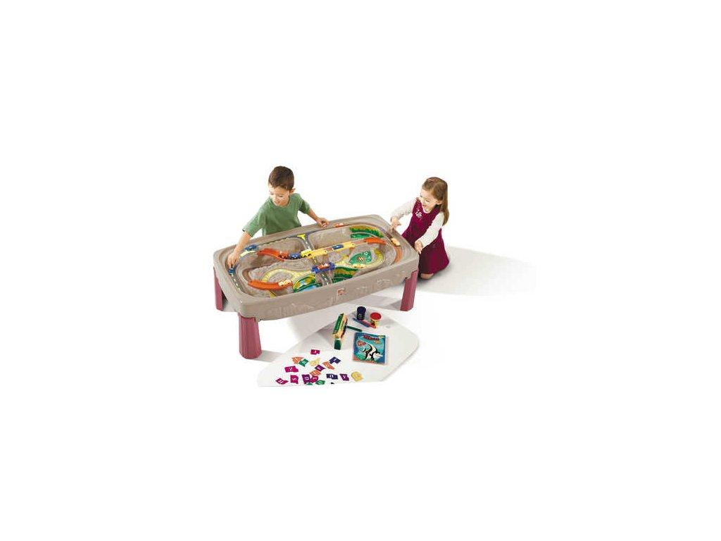 herní stolek Grand Canyon,vláčkodráha,herní stůl s vláčkem,vláčkodráhy