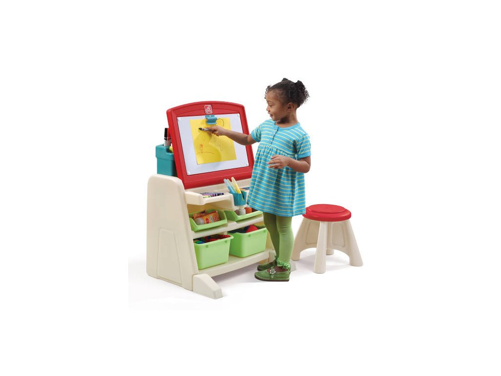 výtvarný stolek dětský,výtvarný stojan,dětský stůl na kreslení