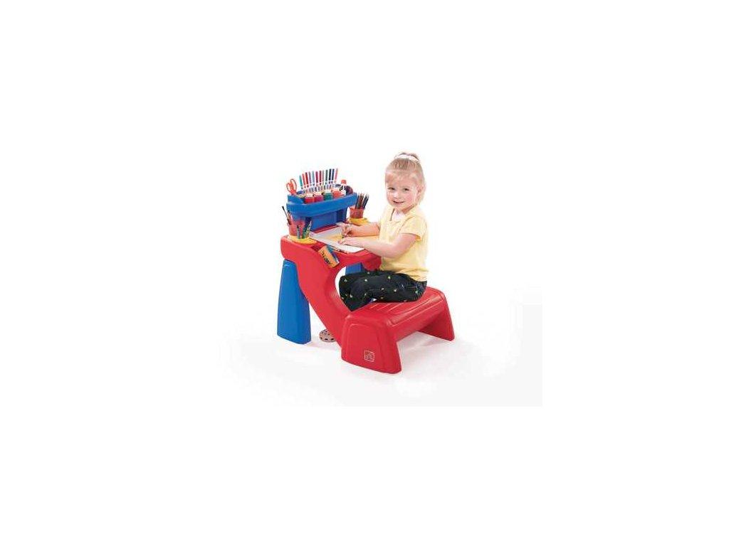 stoleček na kreslení,dětský výtvarný stolek