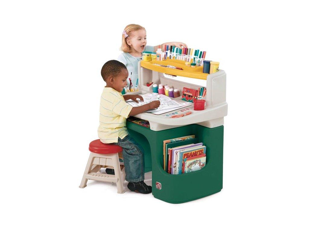 výtvarný stolek deluxe,dětský výtvarný stůl,stoleček na kreslení