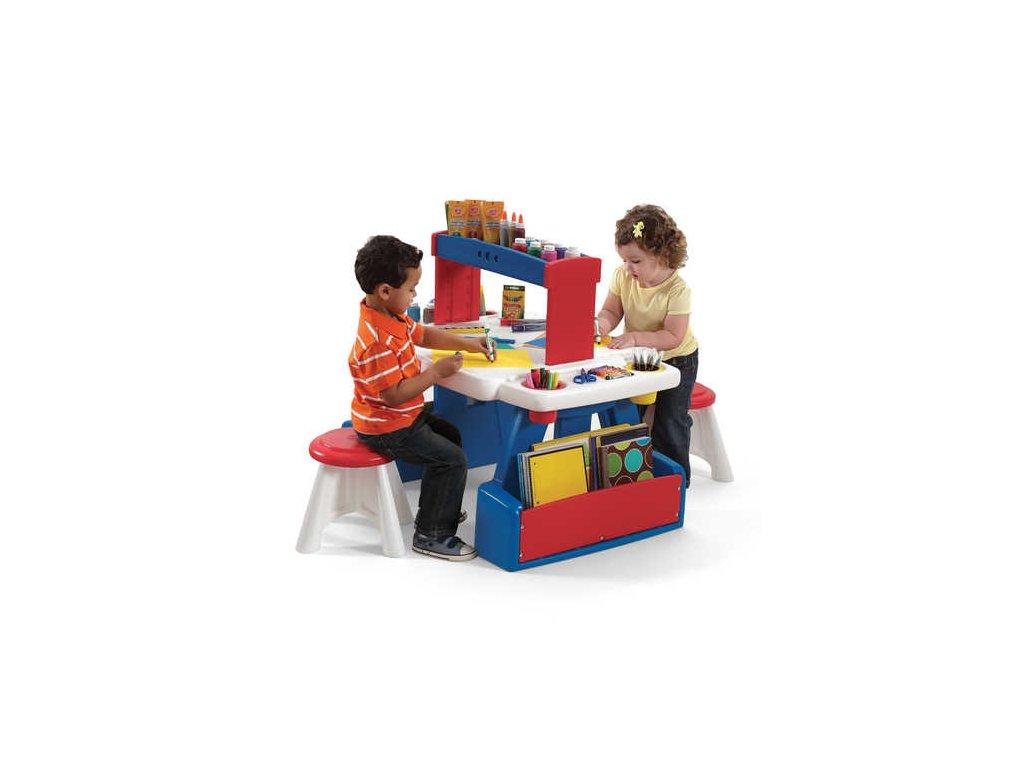 dětský výtvarný stolek Creative,stoleček na kreslení