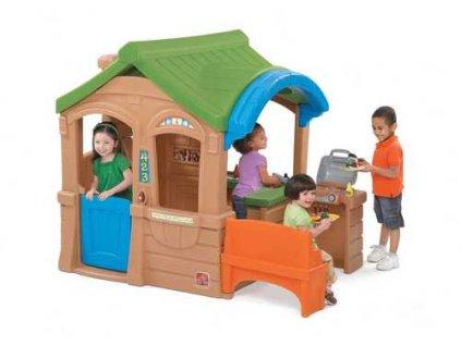 Dětský domeček s grilem,domeček,domeček pro děti
