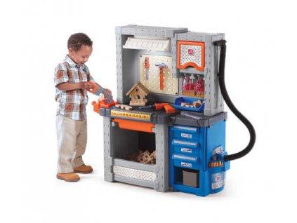 dětská dílna deluxe,pracovní stůl s nářadím,pracovní ponk