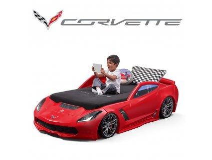 Dětská postel auto Corvette,postel auto,dětský nábytek,auto postele