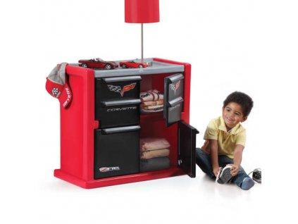 step2 dětský prádelník Corvette,skříň na hrakčky,skříňka na hračky,dětský nábytek