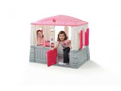 Dětský domeček Neat Tidy růžový, domeček na hraní, hrací domečky