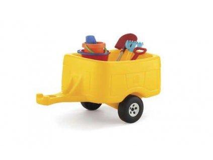 přívěs za šlapací traktor, dětský traktor s vlekem