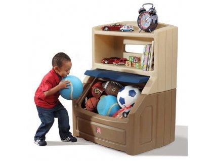 Skříňka na hračky,box na hračky Twin,dětský nábytek