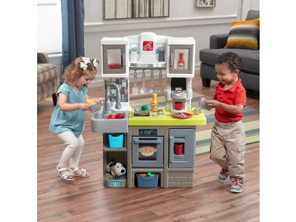dětská kuchyňka se zvuky vaření,kuchyňka Step2,kuchyňka Contemporary Chef